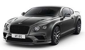 2018 Bentley Continental Supersport