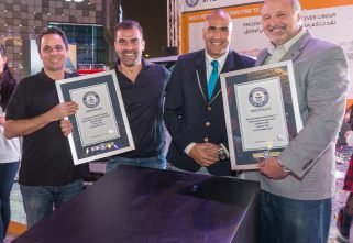 Chevrolet Middle East Breaks Two Guinness World Records