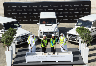 Gargash Enterprises Lays Foundation For New Mercedes-Benz Flagship Store