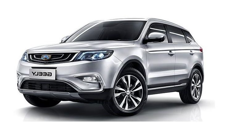 Geely X7 Sport 2.4L Advance (AWD)