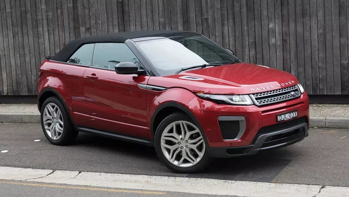 2018 land rover range rover evoque convertible convertible. Black Bedroom Furniture Sets. Home Design Ideas