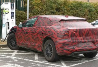 Test Mule Of Jaguar I-Pace Spotted In The UK