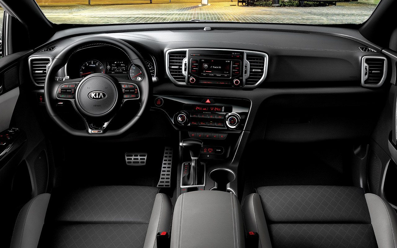 2017 kia sportage 2 4l base price in uae specs review. Black Bedroom Furniture Sets. Home Design Ideas