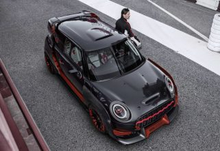 The Extremely Aggressive Look Mini Cooper GP Concept