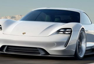 Video: Mark Webber Drives The Porsche Mission E Around Weissach