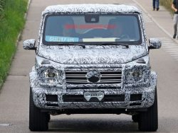 More Spy Shots Surface For The 2018 Mercedes-Benz G-Class