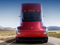 Tesla Promises An Unexampled Future With Its Semi Truck