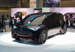 Hydrogen Powered Toyota Fine-Comfort Ride Concept