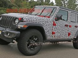 Production Worthy Jeep Wrangler Spotted Prowling