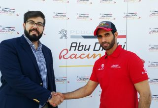 Peugeot Joins Hand With FIA World Champion, Sheikh Khalid
