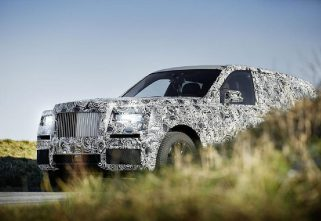 Rolls-Royce Names Its New High-Sided Vehicle: Cullinan