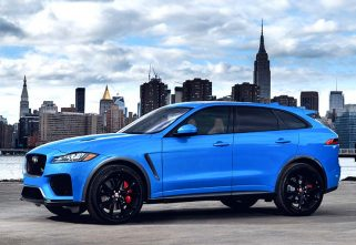 Jaguar Unveils Its New F-Pace SVR
