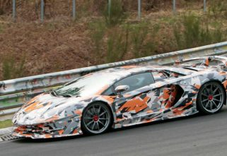 Lamborghini Tests Aventador SVJ At The Nurburgring