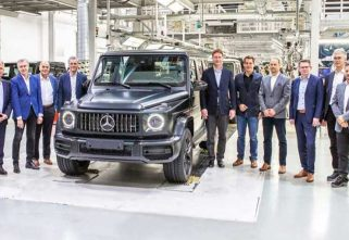 Mercedes-Benz Begins Production of 2019 G-Class