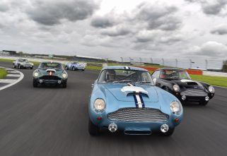 Silverstone Hosts Inaugural Aston Martin DB4 GT Track Day