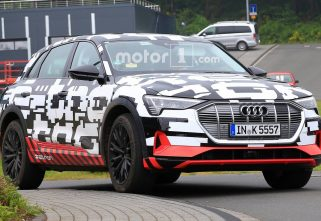 Spy Shots Of Production-Ready Audi E-Tron