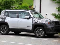 Test Vehicle Of The New 2019 Jeep Renegade Spotted