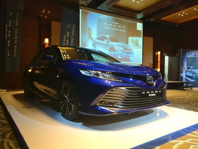 The New 2018 Camry Hybrid Now Available At Al-Futtaim Toyota