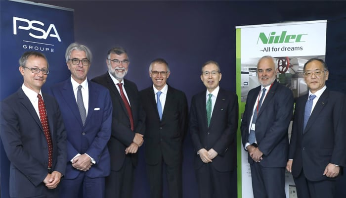 Groupe PSA And Nidec Joins Hands To Develop Electric Motors