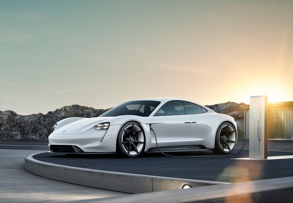 The Taycan Is Porsche's First Electric Car
