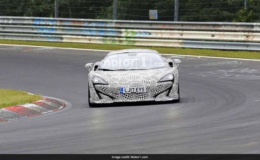 McLaren Testing Its Upcoming 600LT At The Nurburgring