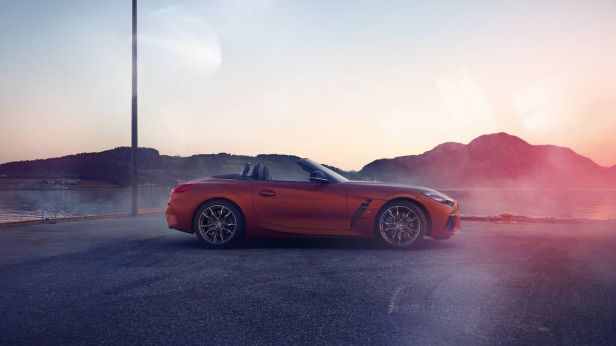 BMW Reveals 2019 Z4 M40i Ahead Of Pebble Beach Car Show