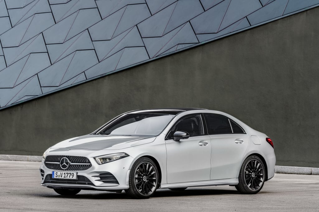 2018 Mercedes-Benz A-Class Saloon Revealed
