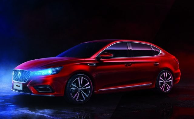 MG Motor Introduces New-Generation MG6 To The Middle East