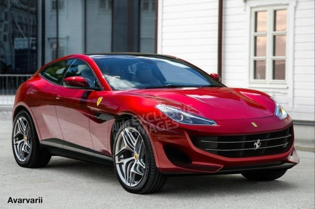 'Ferrari Utility Vehicle' To Hit Showrooms By 2022