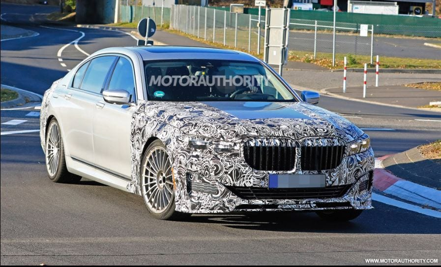 Spied 2020 Bmw Alpina B7 To Arrive With The Refreshed 7 Series