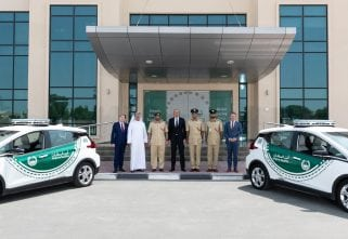 Dubai Police Inducts The Chevrolet Bolt EV To Fleet