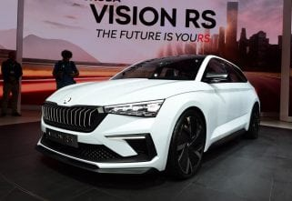 Paris Motor Show 2018: Skoda Showcases New Vision RS