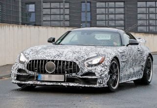 Breaking: Mercedes-AMG GT R Black Series Spotted Testing
