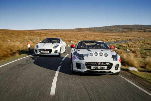 Jaguar Develops Rally Edition Of The F-TYPE To Commemorate 70 Years Of Racing