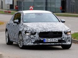SPIED! 2019-Due Mercedes Benz CLA Shooting Brake Spotted With Sportier Profile