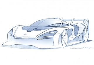McLaren Teases New Sketch Of The Senna GTR