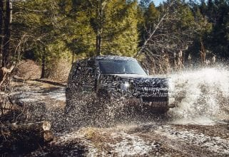 """The Most Off-Road Capable,"" Says Land Rover Of The New Defender"