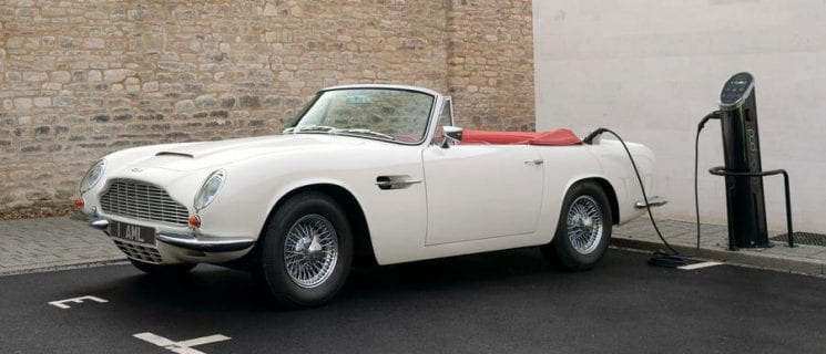 New Lease Of Life: Aston Martin Works Announces Electric Conversion For Classic Cars