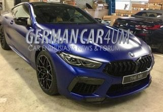 SPIED: BMW M8 Competition Images Leaked