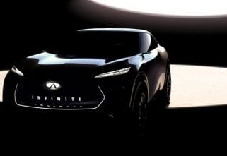 Infiniti Previews New Electric Crossover Concept