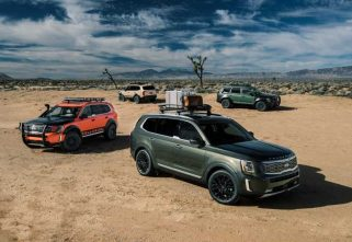 2020 KIA TELLURIDE UNVEILED AT DETROIT MOTOR SHOW