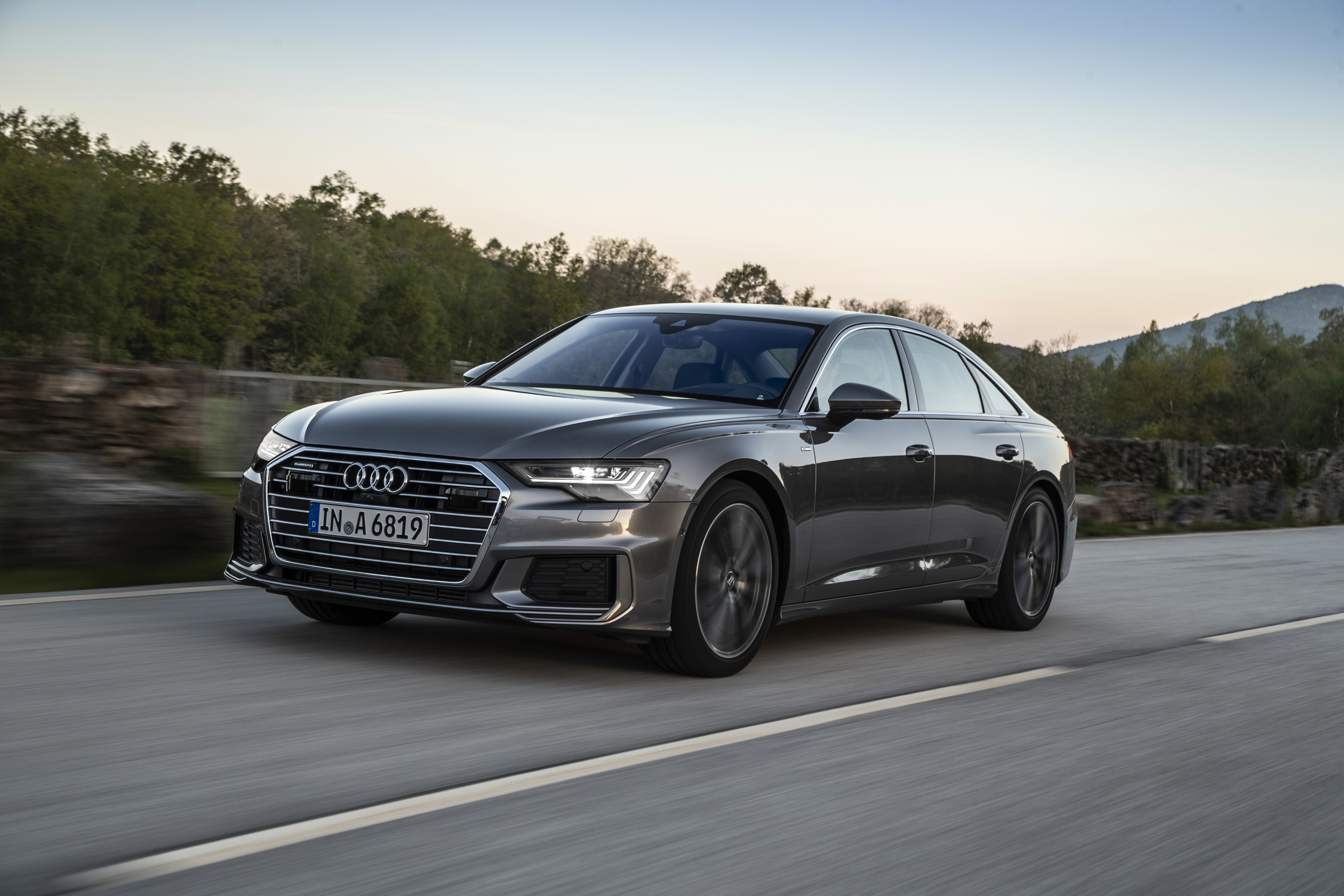2019 Audi A6 Arrives In The Middle East Carprices Ae