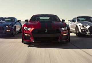 2020 FORD MUSTANG SHELBY GT500 UNVEILED AT DETROIT AUTO SHOW