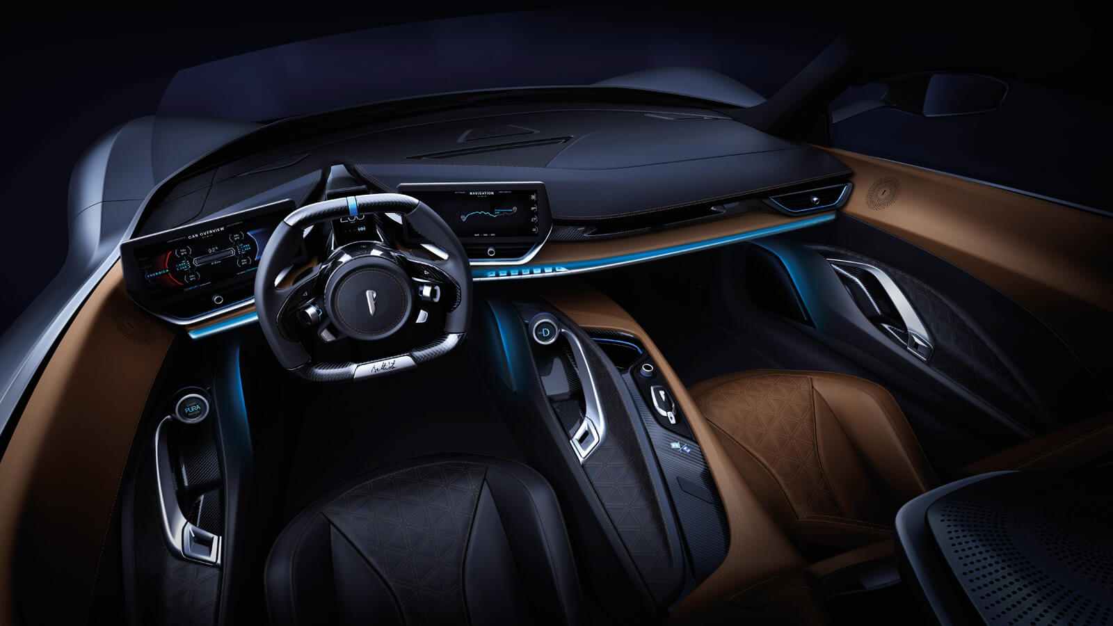 Pininfarina Battista Interior
