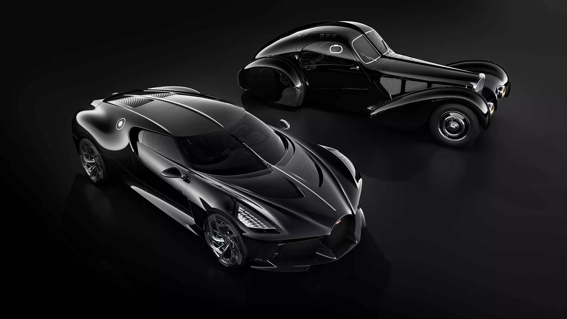 The Bugatti La Voiture Noire Has The Nicest Rear End In: Geneva Motor Show 2019: Got $18.9 Million To Spare For A