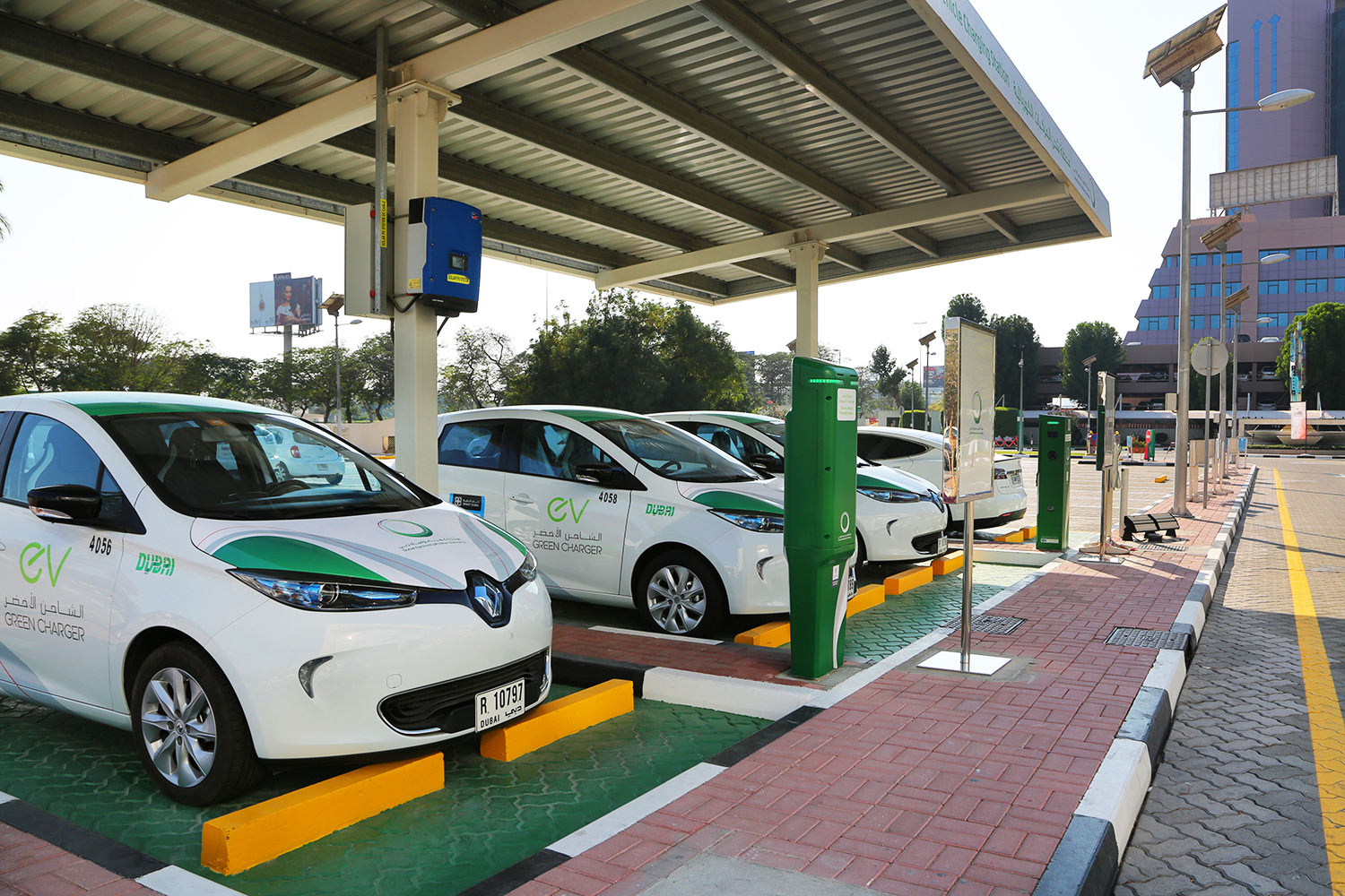 dewa electric vehicle charging stations in dubai  the complete list