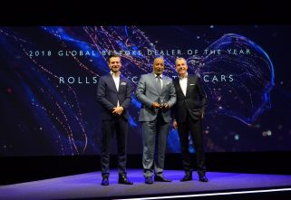 Rolls-Royce Motor Cars Dubai Bags Global Bespoke Dealer Award At This Year's Global Dealer Awards