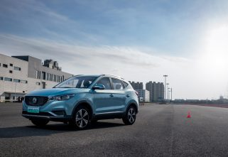 All-Electric MG EZS SUV Makes Global Debut