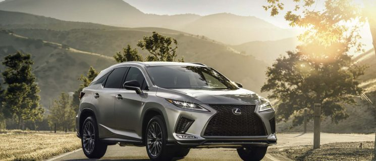 Middle East-Bound New 2020 Lexus RX Facelift Revealed