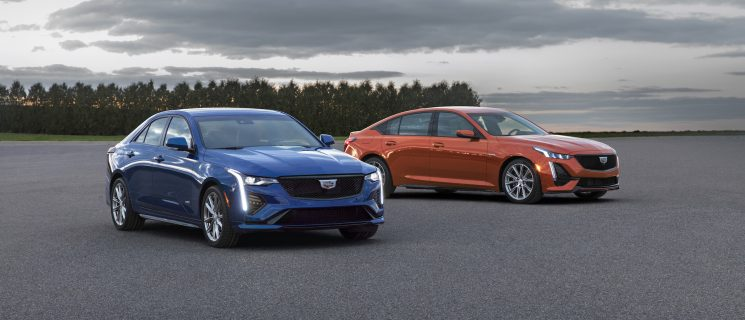 Upcoming Cadillac CT4-V, CT5-V Blackwing To Feature Manual 'Box!